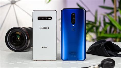 Samsung Galaxy S10 Vs Oneplus 7 Pro by Oneplus 7 Pro Vs Samsung Galaxy S10 Plus Almost Equal Opponents Androidpit