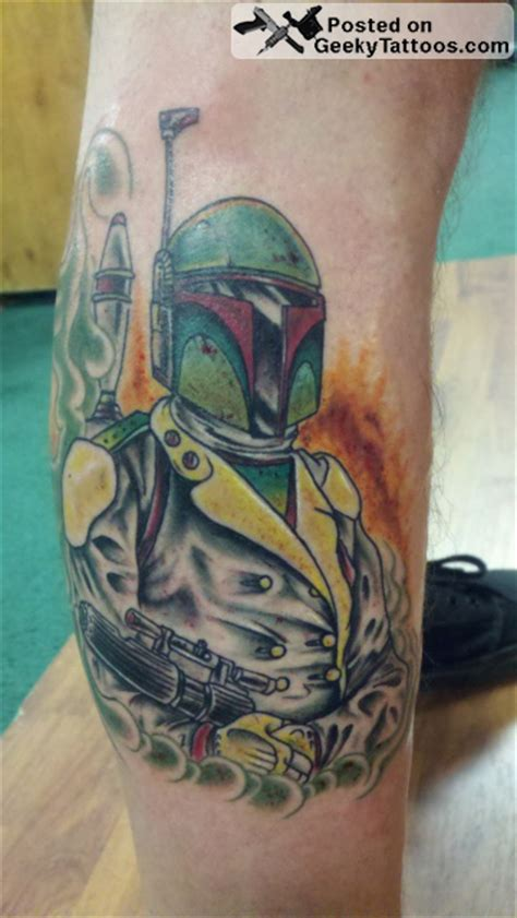 boba fett tattoos spectacular wars sith sleeve geeky tattoos