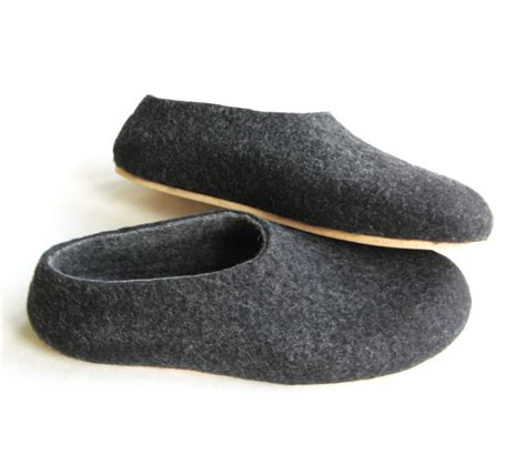 best mens house slippers boiled wool shoes mens felted slippers house shoes for men