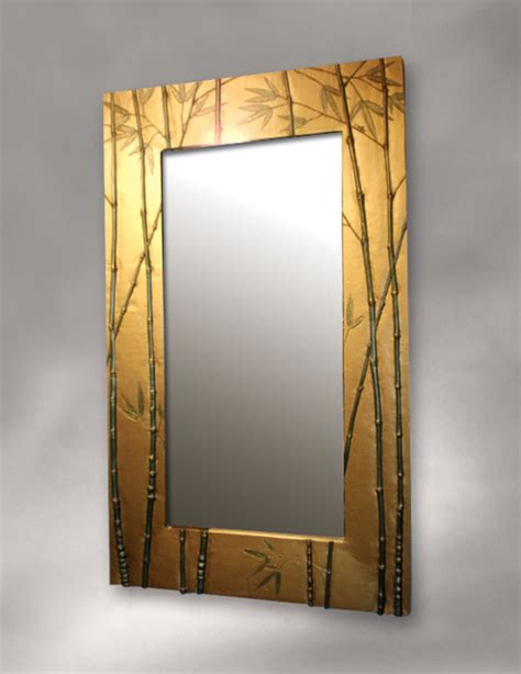 bamboo bathroom mirror bamboo framed bathroom mirrors house decor ideas