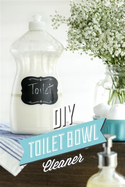 can you use toilet bowl cleaner on a bathtub diy toilet bowl cleaner live simply