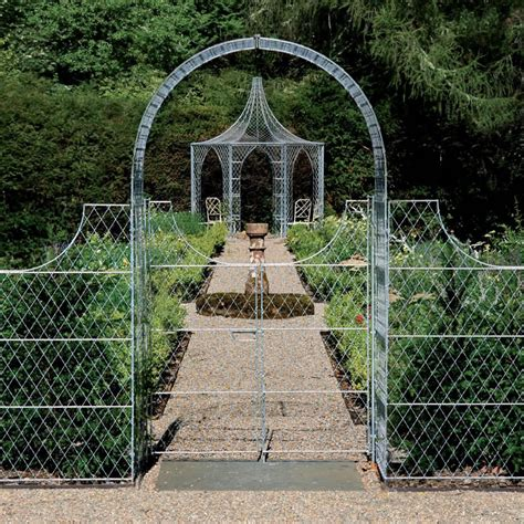 Garden Arch With Gate Uk Gates Metal Garden Gates