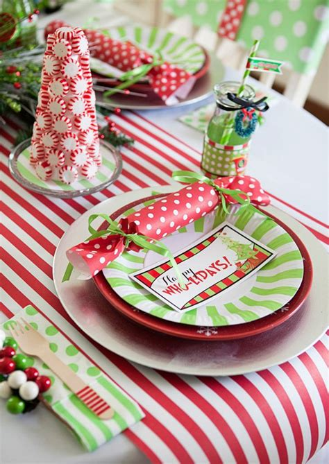 grinch pinterest kids party ideas 20 diy tablescapes that will knock your socks