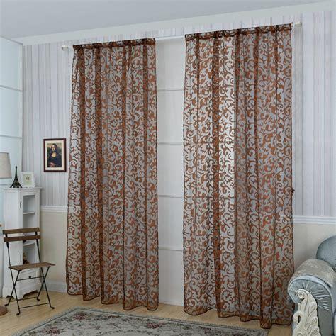 honana 1x2m fashion european style voile door window curtain room divider sheer curtain home