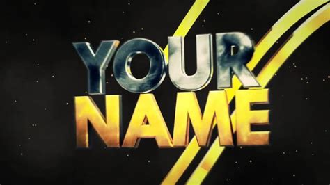 After Effects Cinema 4d Intro Gaming Template 10 Youtube Gaming Intro Template After Effects