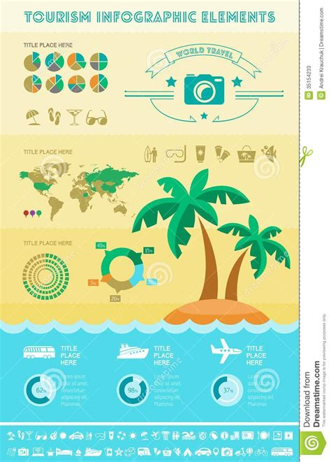 Travel Infographic Template Stock Photos Image 35154233 Travel Infographic Template