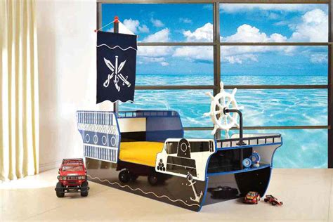 boat shaped childrens bed kids childrens pirate ship boat bed