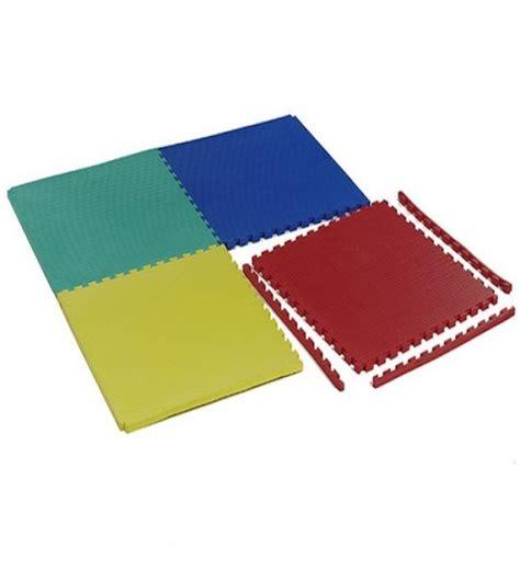 tappeto antitrauma bambini pavimentazione 100x100 incastro antitrauma 20 mm