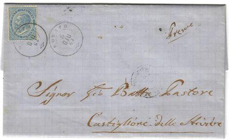 ufficio postale castiglione delle stiviere storia postale italiana