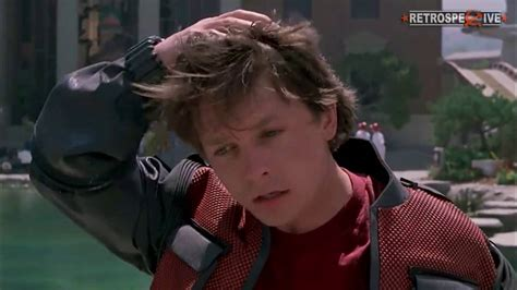michael j fox marty mcfly michael j fox as a marty mcfly from back to the future