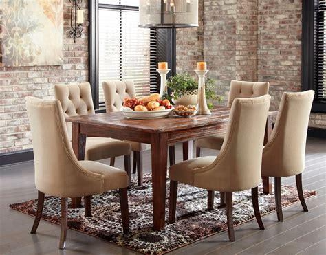 mestler dining table mestler brown dining room set from d540 125