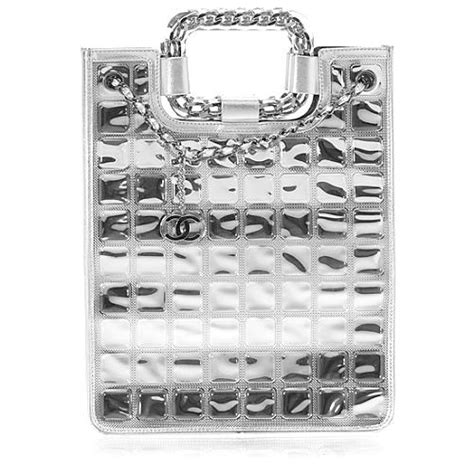 Hiltons Cube Chanel Purse by Chanel Cube Tote