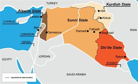 middle east map sunni shia 40 maps that explain the middle east