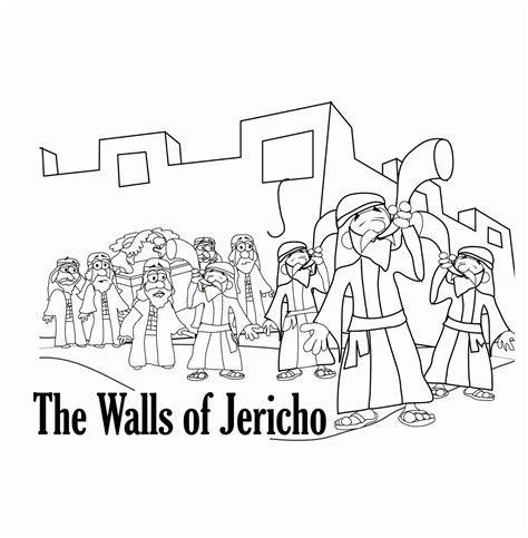Joshua 7 Coloring Pages by Joshua Coloring Page Coloring Home