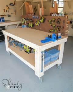 work bench diy new year new workbench baby shanty 2 chic