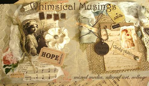adkins whimsical musings mixed media october 2010 itsy bits and pieces
