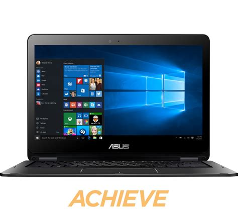 Laptop Asus Transformer Touchscreen asus transformer book flip tp301ua 13 3 quot touchscreen 2 in 1 black deals pc world