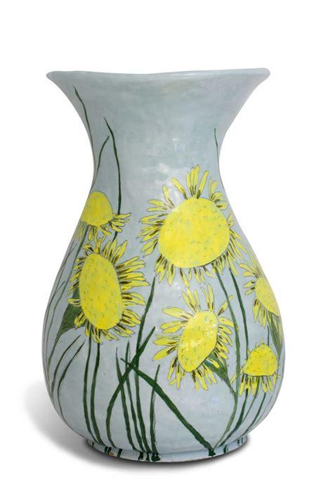 pot designs ceramic pot with flower design art pinterest