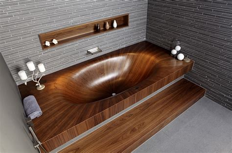 How To Make Wooden Bathtub by Luxurious And Dramatic Wooden Bathtubs Make A Bold Visual Statement