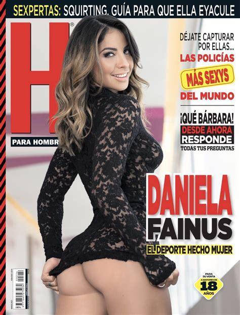 revista h enero 2016 fotos daniela fainus revista h marzo 2017 famosas de revista