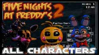 Five nights at freddy s 2 all animatronics amp jumpscares youtube