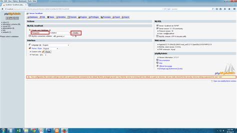 membuat database pegawai mysql bagaimana cara membuat database dengan mysql xp