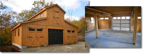 stick built garages  maine