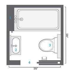5x6 bathroom layout 25 best ideas about very small bathroom on pinterest