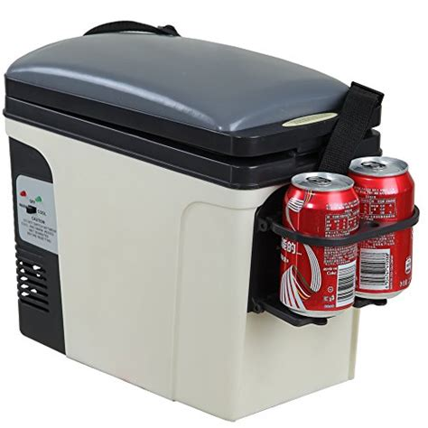 mini car cooler and warmer smad 6l electric mini fridge cooler and warmer for vehicle