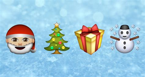 images of christmas emojis emoji blog where did all the christmas emojis go in