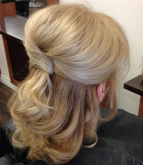 half up hairstyles for hair half up half wedding hairstyles 50 stylish ideas