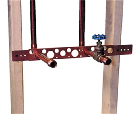 Plumbing Support Brackets by 102 18 Holdrite
