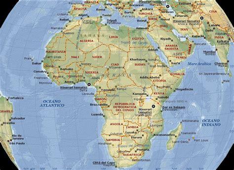 lafrica mappa africa carta geografica mappa gratis e ricette dell africa