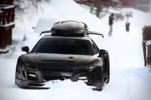 Carbon Fiber Audi R8 Jon Olsson S Carbon Fiber Audi R8 Razor Gtr Hiconsumption