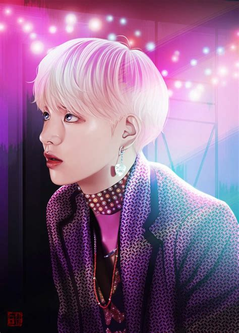 V Anime Bts by Pin By Yunha On 그림 Bts Fanart And Kpop