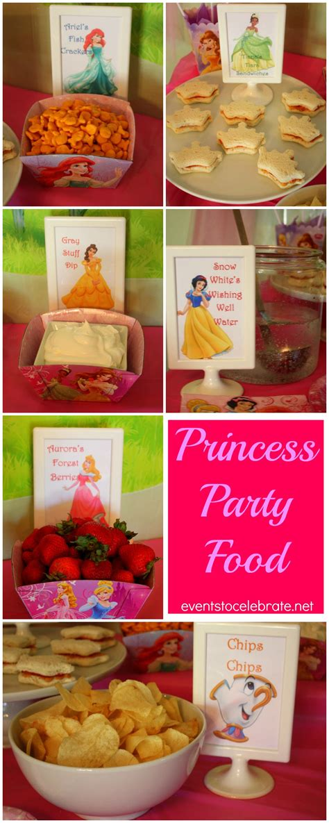themed food events disney princes party ideas cute food ideas with free