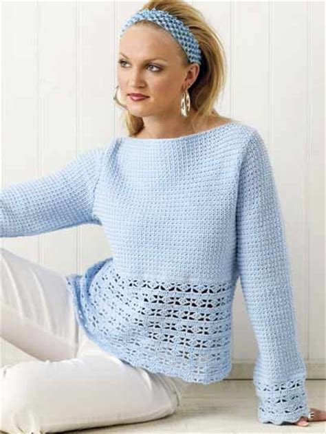 crochet pattern jumper crochet clothes crochet sweater top patterns blue