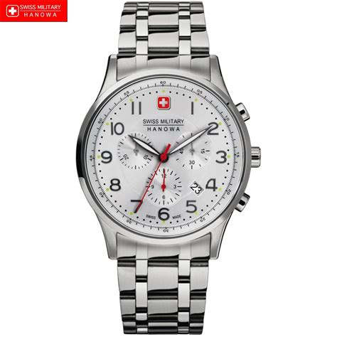 swiss watches swiss hanowa 6 5187 04 001 mens polished steel