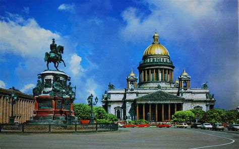 St Square st isaac s square st isaac s cathedral and monument to