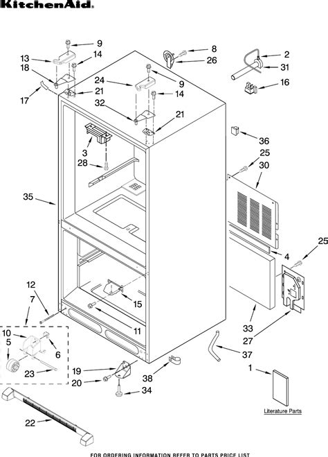 kitchenaid refrigerator drawer manual kitchenaid refrigerator kbfs25evwh00 user guide