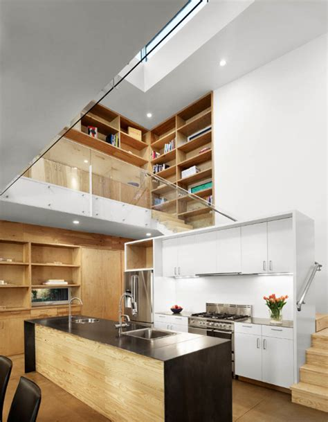 55 Amazing Space Saving Kitchens Under The Stairs Stairs Kitchen Design