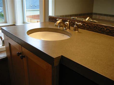 Concrete Countertop Reviews by Concrete Countertop 3 Kitchen Bath Laundry Remodel