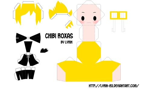 Kingdom Hearts Papercraft - chibi crafts design