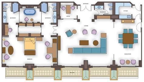 presidential suite floor plan presidential suites atlantis the palm dubai