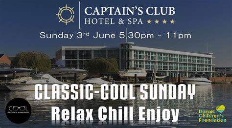login celebrity captains club cool people awards invite you to a relax chilled sunday at