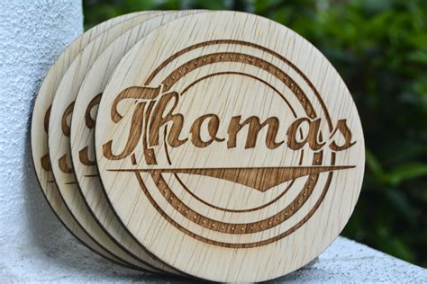 unique coasters personalized coasters wedding favors rustic wedding
