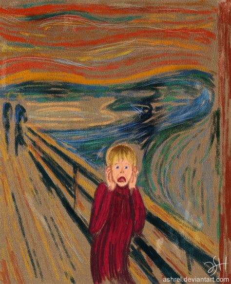 the scream alone by ashrel on deviantart