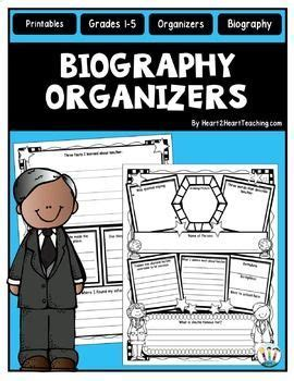 black history month biography graphic organizer studying black history month and student on pinterest
