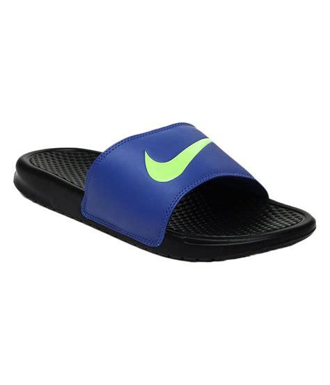 Nike Benassi Swoosh Nike nike blue benassi swoosh price in india buy nike blue