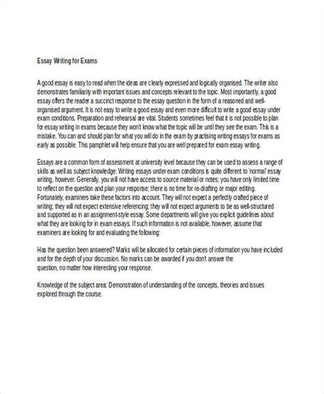 Monash Essay Writing by 11 Writing Exles In Doc